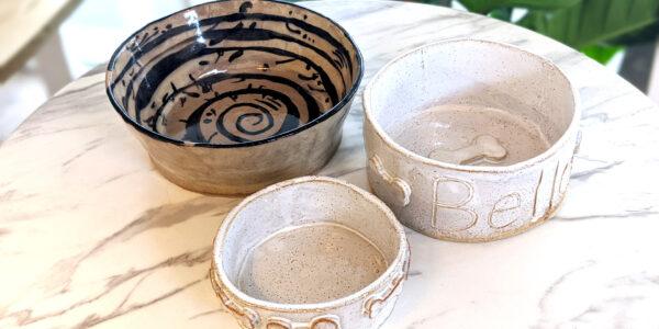 Dog Bowls - Glazed
