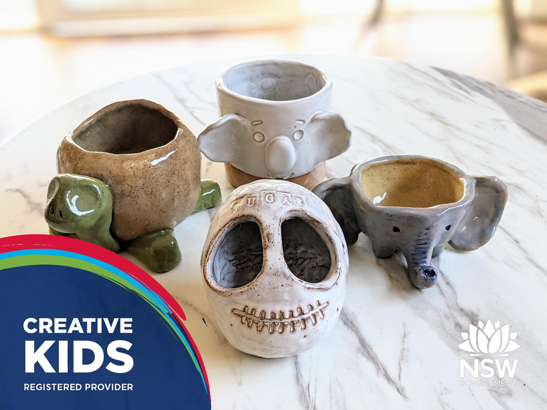 Centered Ceramics Creative Kids