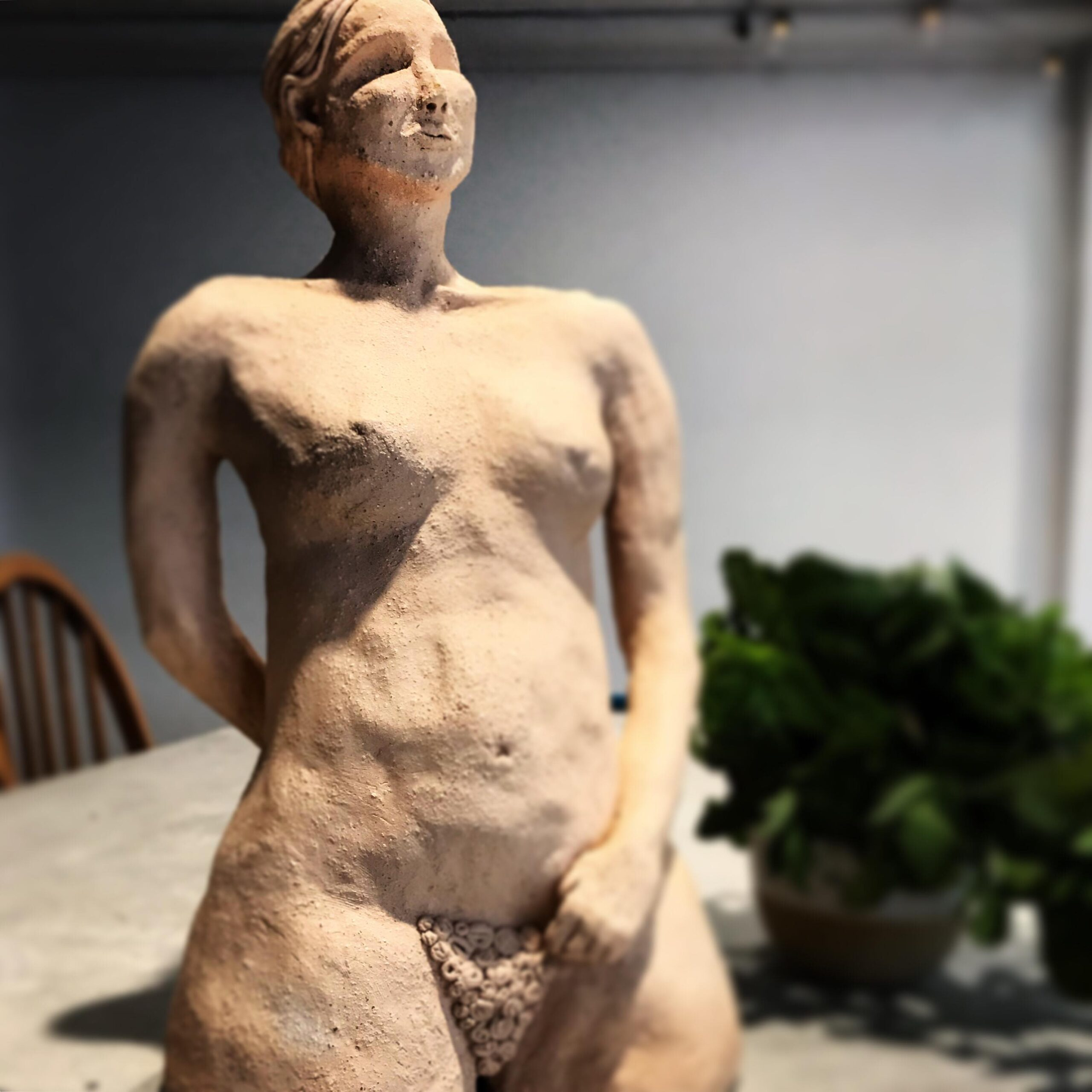 Female Figure - Centered Ceramics